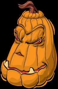 pumpkin, halloween, cartoon